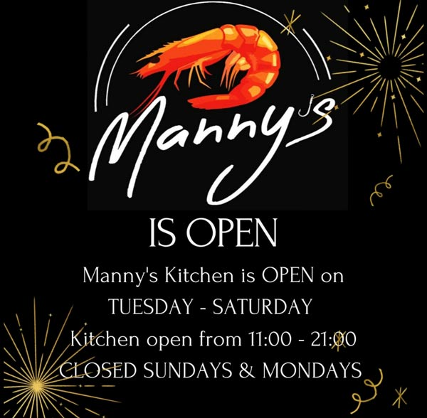 Manny's Kitchen Botrivier